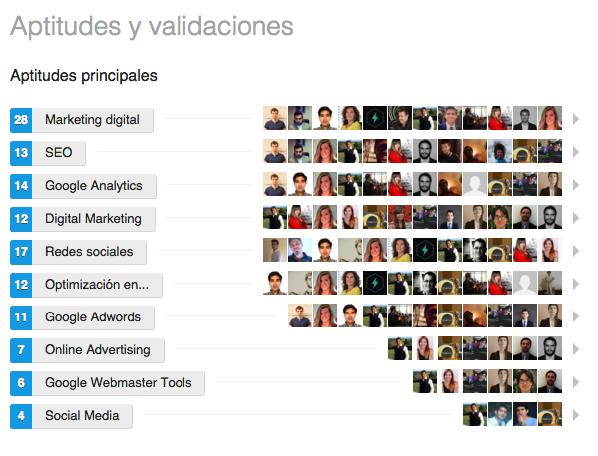 posicionamiento en LinkedIn